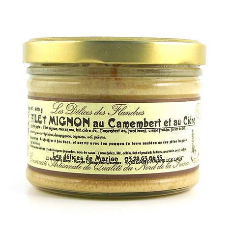 Les Cuisinés des Sources - Filet mignon au camembert et au cidre