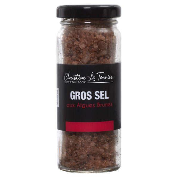 Gros sel gris aux algues christine le tennier - Gros sel pour desherber ...