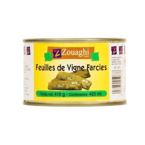 Zouaghi - Feuilles de vigne farcies