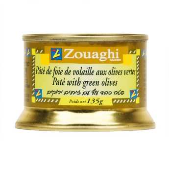 Zouaghi - Chicken Liver Paté with Green Olives