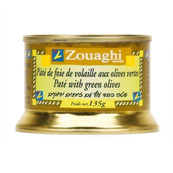 Pâté de foie de volaille aux olives vertes
