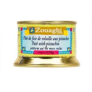 Zouaghi - Pistachio Chicken Liver Pâté