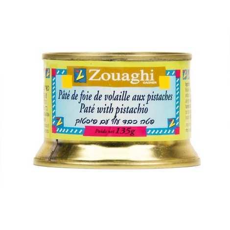 Zouaghi - Pâté de foie de volaille aux pistaches