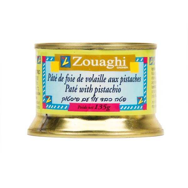 Pâté de foie de volaille aux pistaches