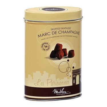 Les parisiennes - Truffes au marc de Champagne