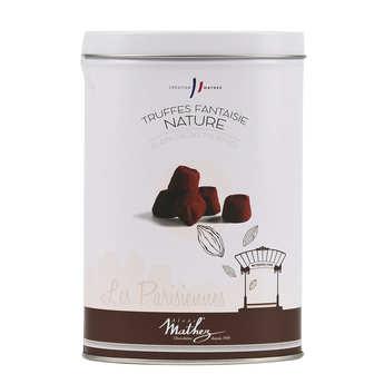 Chocolat Mathez - Cacoa Truffles in Parisiennes Tin Box
