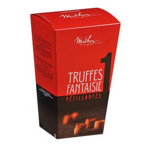 Chocolat Mathez - Truffes fantaisie pétillantes happy box