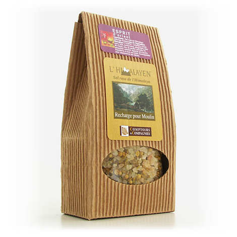 Comptoirs et Compagnies - Pink salt of the Himalayas oriental mix - The refill