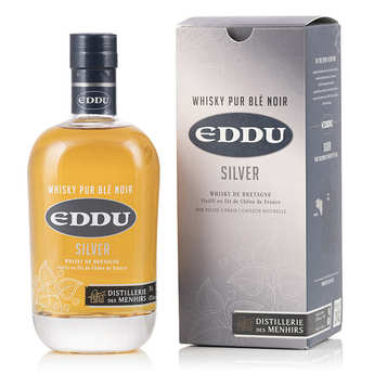 Distillerie des Menhirs Eddu - Eddu Silver - Whisky breton 40%