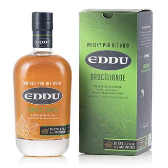 Distillerie des Menhirs Eddu - Eddu Silver - French Whisky 42%