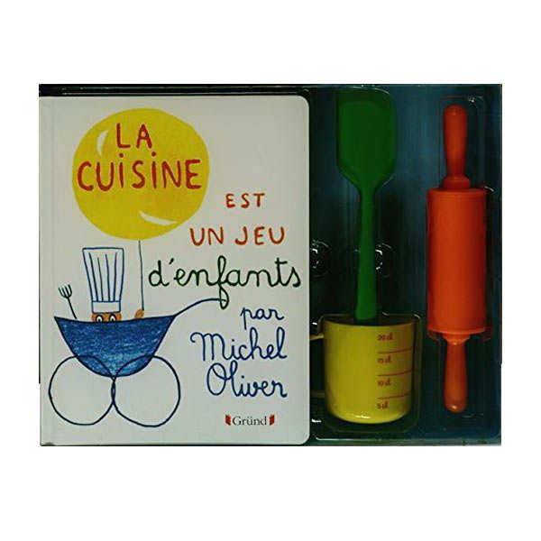 Coffret la cuisine est un jeu d 39 enfants m oliver first gr nd editions - La cuisine est un jeu d enfant ...
