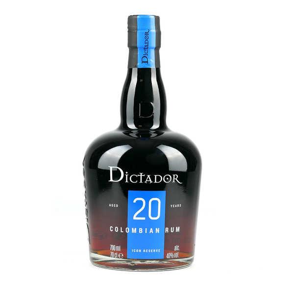 Dictador 20 year rum 40%