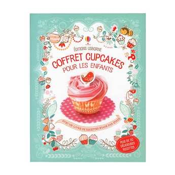 Editions Usborne - Usborne Publishing Ltd - Cupcakes for children set (Book in French)