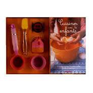 Editions Hachette - Coffret cuisiner avec les enfants - J. Schwob