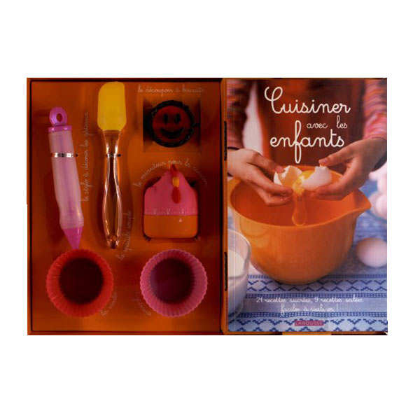 Cuisine with children set - (Book in French)