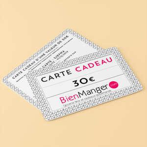 BienManger paniers garnis - Carte cadeau BienManger.com 30€