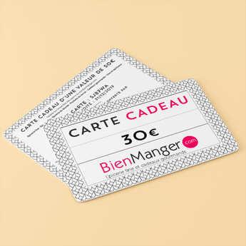 BienManger paniers garnis - 30€ BienManger Gift Card