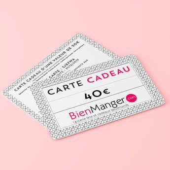 BienManger paniers garnis - 40€ BienManger Gift Card
