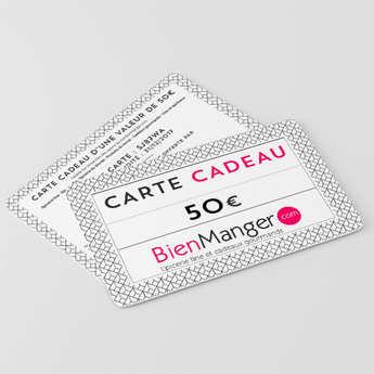 BienManger paniers garnis - Carte cadeau BienManger.com 50€