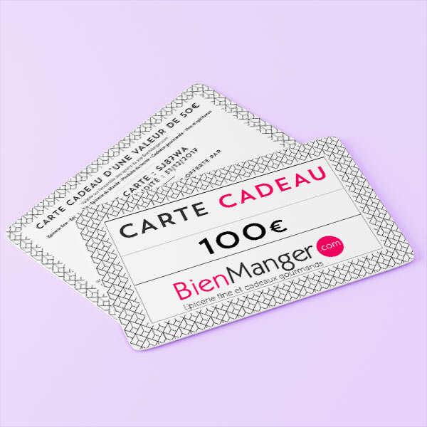 Carte cadeau BienManger.com 100€