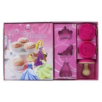 Editions Hachette - Princesse cuisine set (Book in French)