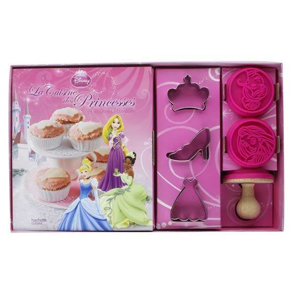 Princesse cuisine set (Book in French)