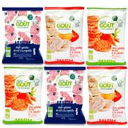 Good Goût - Pack galettes de riz pour bébé dès 10 mois