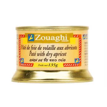 Zouaghi - Pâté de foie de volaille aux abricots
