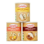 Baby Bio - Organic Baby Cereal From 6 Months - 3 Flavors