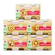 Baby Bio - Fruity Pack for 4 Months Babies