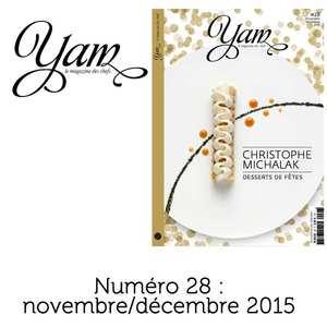 Yannick Alléno Magazine - YAM n°28