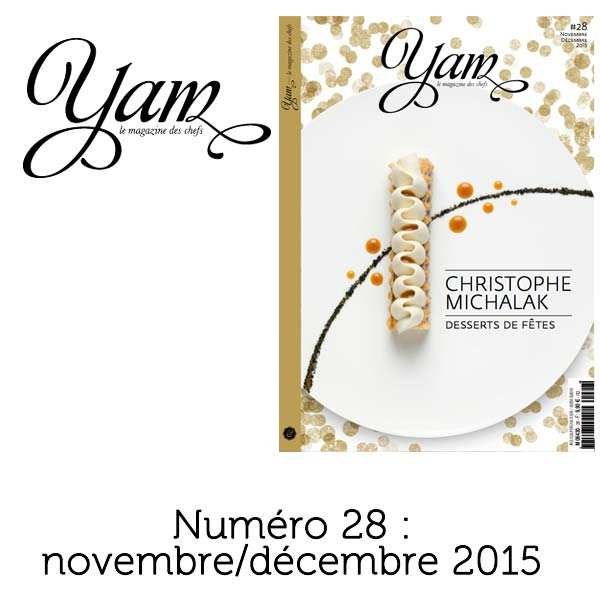 French magazine about cuisine - YAM n°28