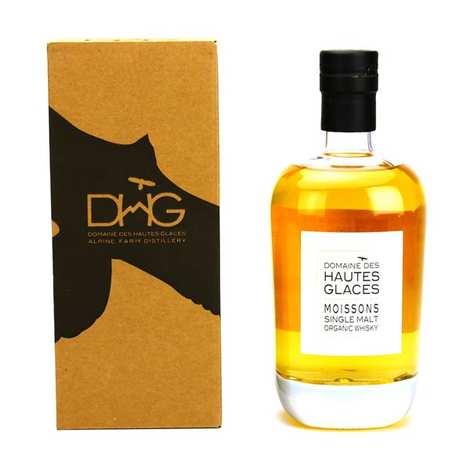 Domaine des Hautes Glaces - Les Moissons - Whisky single malt biologique - 44.8%