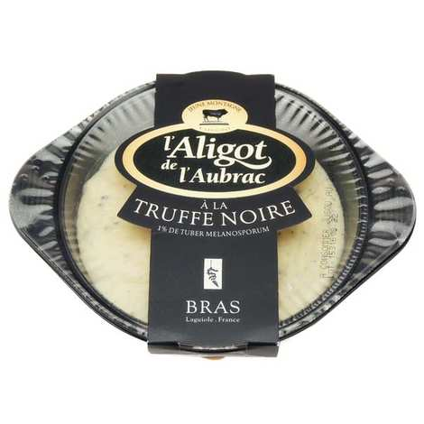 Coopérative Jeune Montagne - Aligot of Aubrac with black truffle developed with the head Bras