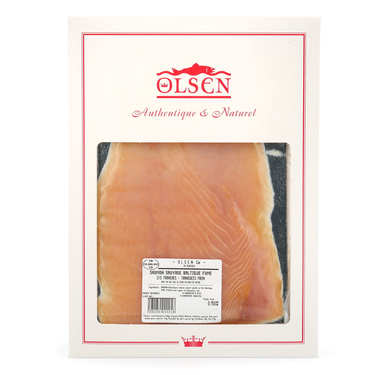 Wild Smoked Baltic Salmon -