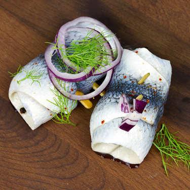 Rollmops with vinegar Olsen
