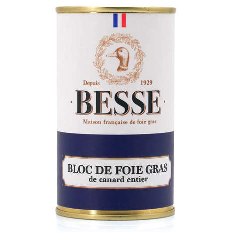 Foie gras GA BESSE - Block of Duck French Foie Gras