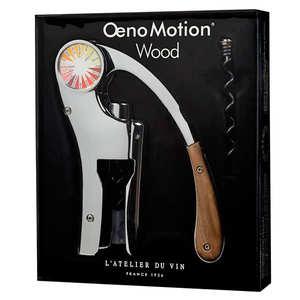 corkscrew oeno motion wood l 39 atelier du vin. Black Bedroom Furniture Sets. Home Design Ideas