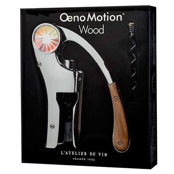 Corkscrew Oeno Box Solid Wood