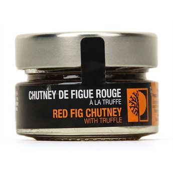 Truffières de Rabasse - Chutney de figue rouge à la truffe