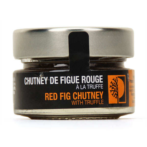 Red Pear Chutney With Truffles