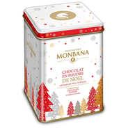 Chocolat en poudre aux épices de Noël en cadeau