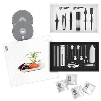 Saveurs MOLÉCULE-R - Kit combiné de cuisine moléculaire et de stylisme culinaire
