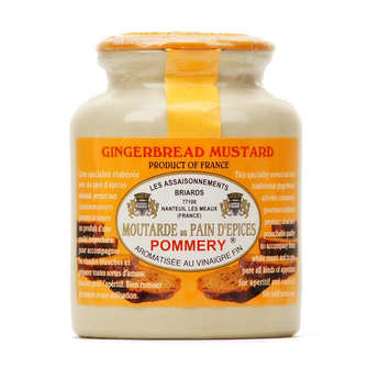 Les assaisonnements Briards - Gingerbread Mustard - Pommery
