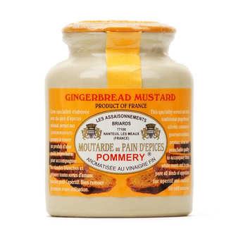 Les assaisonnements Briards - Moutarde au pain d'épices Pommery
