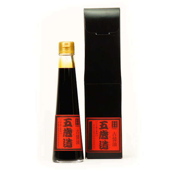 Sauce soja japonaise premium 5 ans d'âge