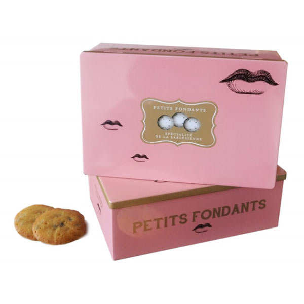 Boite métal biscuits petits fondants