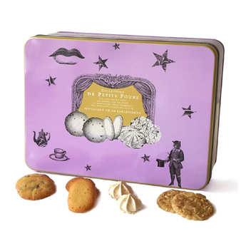 Biscuiterie La Sablésienne - Boîte métal de petits fours assortis