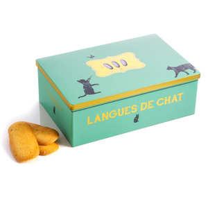 Biscuiterie La Sablésienne - Boite métal langue de chat