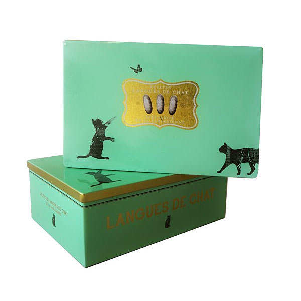 Langue de chat biscuit box